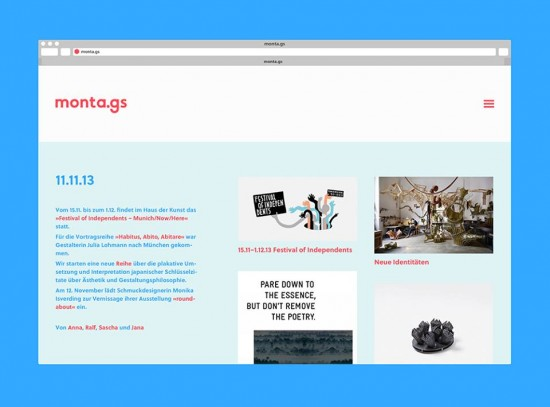monta.gs – Design-Blog