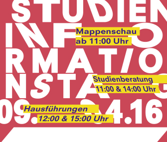 Studieninformationstag 2016